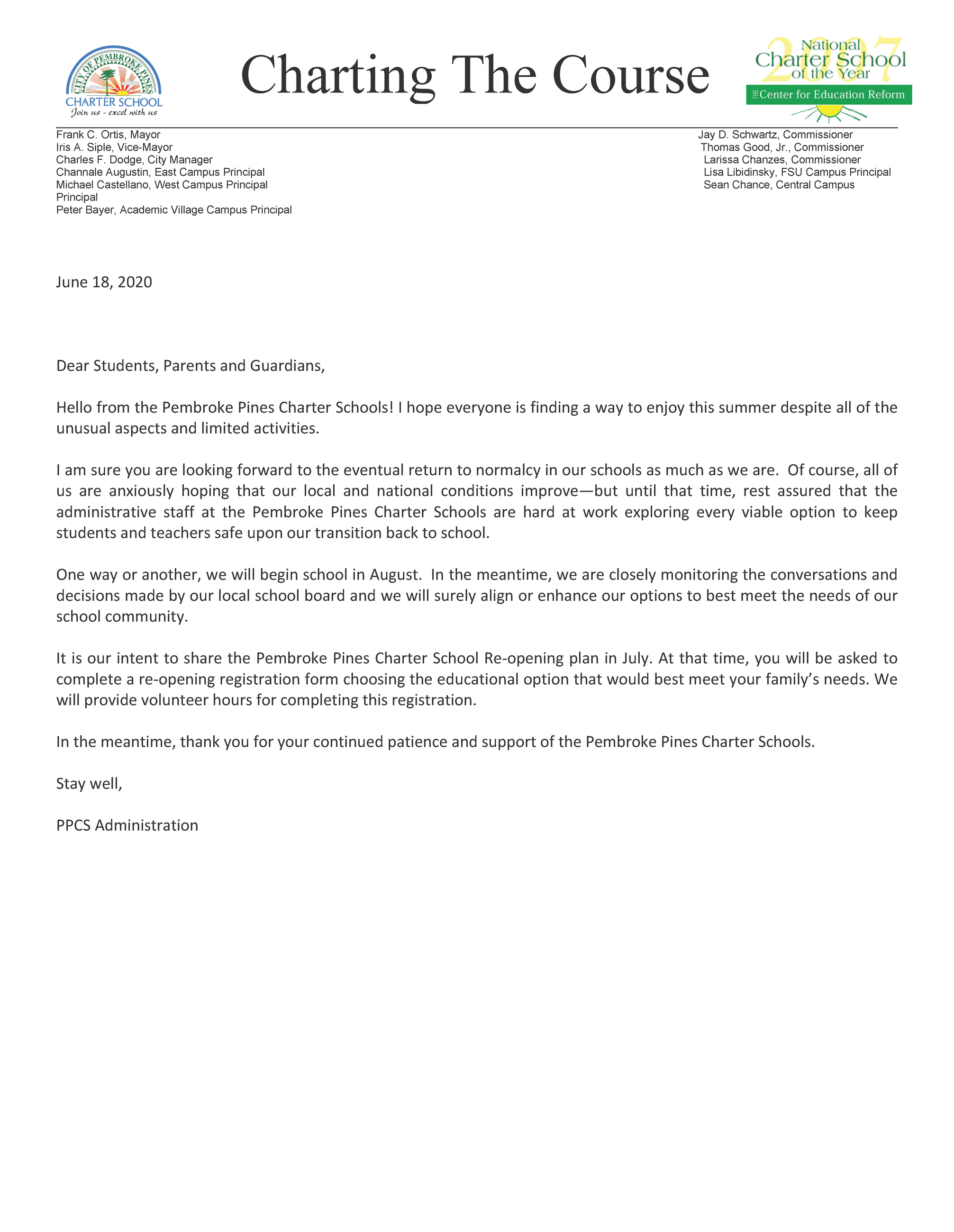 Re-opening letter 6-24-20